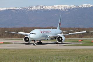 Air Canada AC834. Boeing 777-233(LR). C-FIVK
