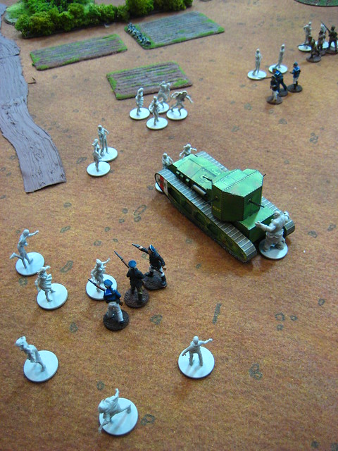 Whippet Tank vs Zombies