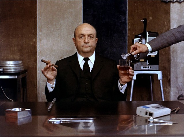 Bernard Blier in Le Distrait directed by Pierre Richard, 1970