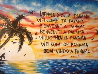 Bienvenidos a Panama!