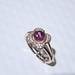霍爾之星 頂級碧璽戒指925銀 A008 粉紅色