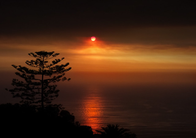 The Unfortunate Beauty of a Wildfire Sunset
