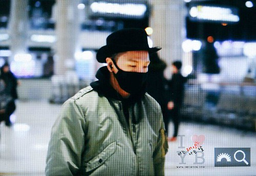 Big Bang - Gimpo Airport - 27feb2015 - Tae Yang - Urthesun - 04