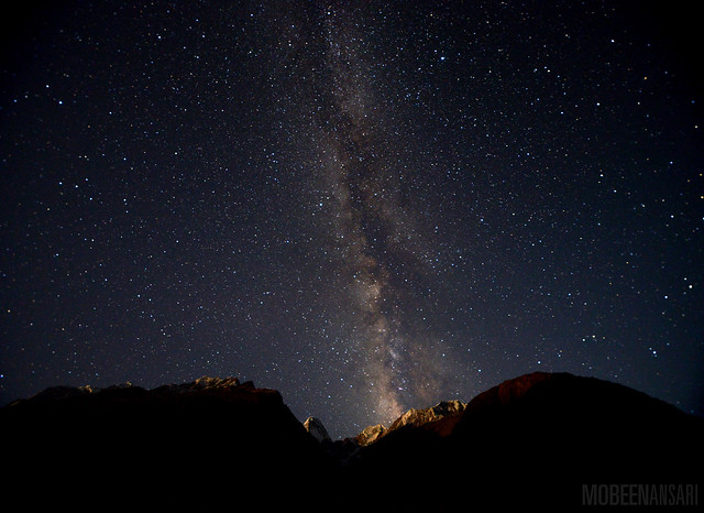 Milky Way over Kashmanja