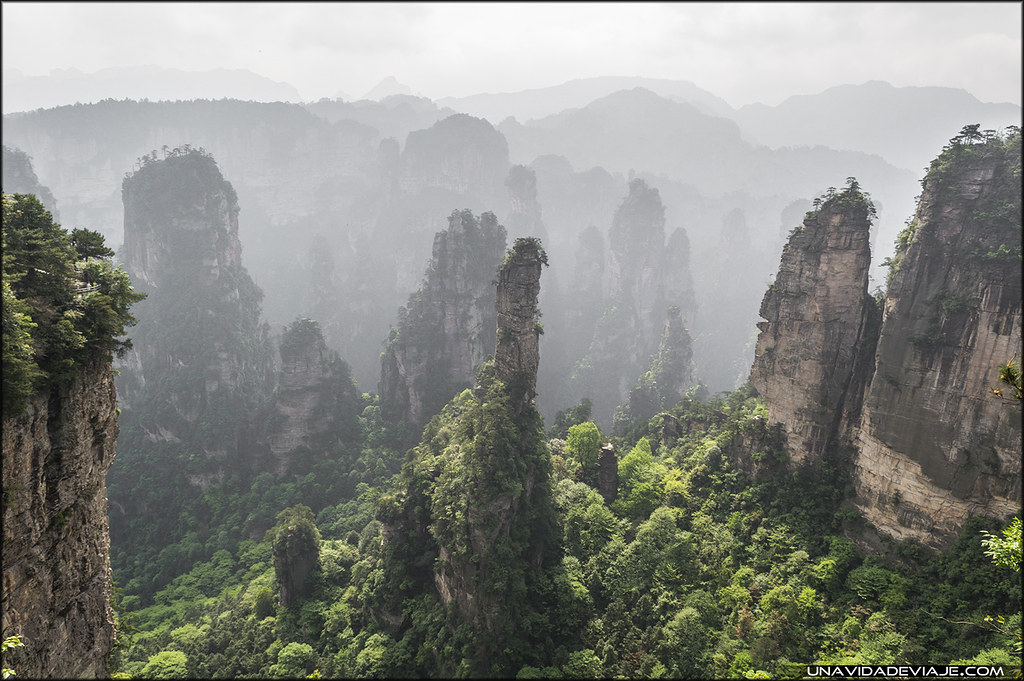 Guia de Zhangjiajie (China)