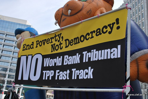 Rally to End Poverty, Not Democracy