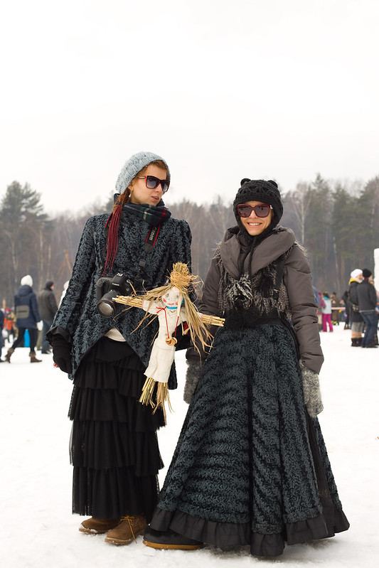 Масляница_дамы в черном
