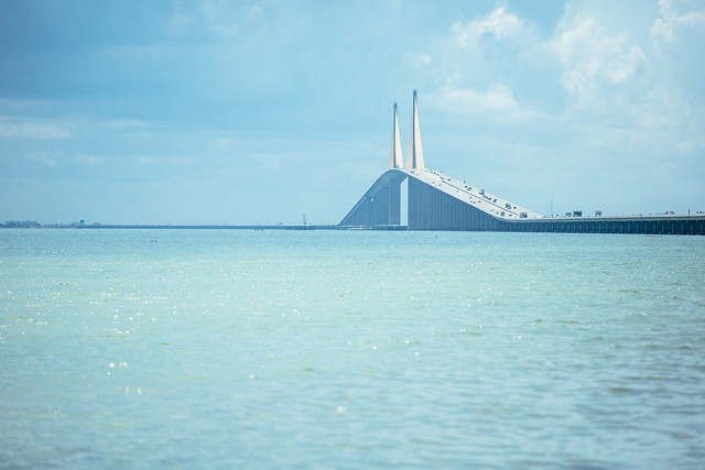 The sunshine skyway bridge flickr photo sharing for Skyway bridge fishing
