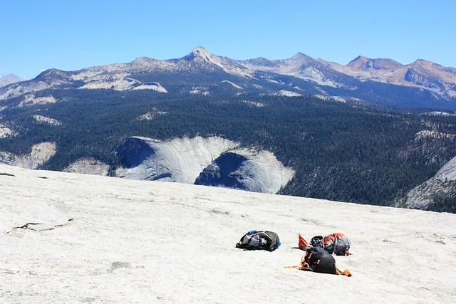 Näkymä Half Domelta Yosemitesta