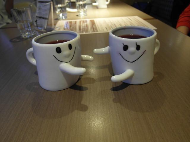 很可愛的微笑對杯@樂樂小時光