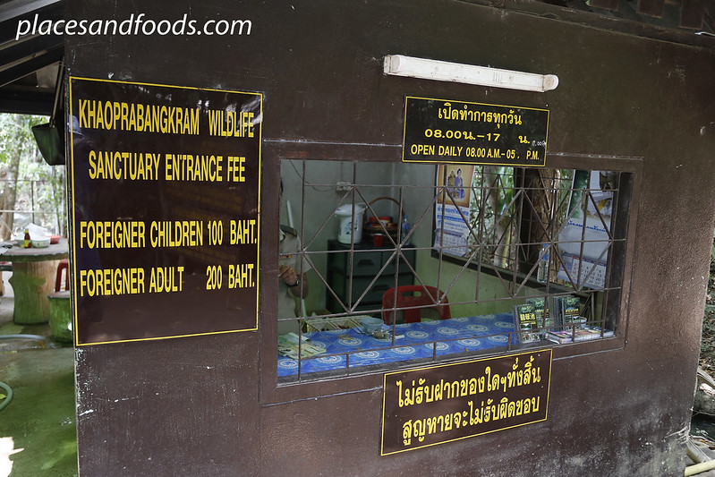 krabi emeral pool entrance fees