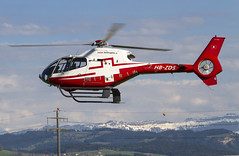 Eurocopter EC120B HB-ZBS, Swiss Helicopter A.G.