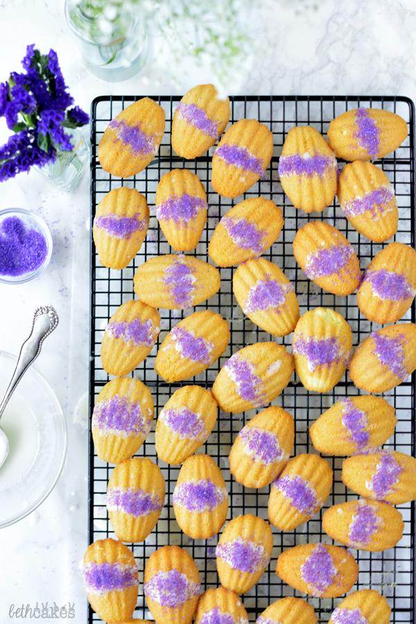 Lavender Madeleines! bethcakes.com