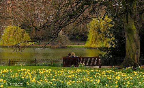 Springtime romance