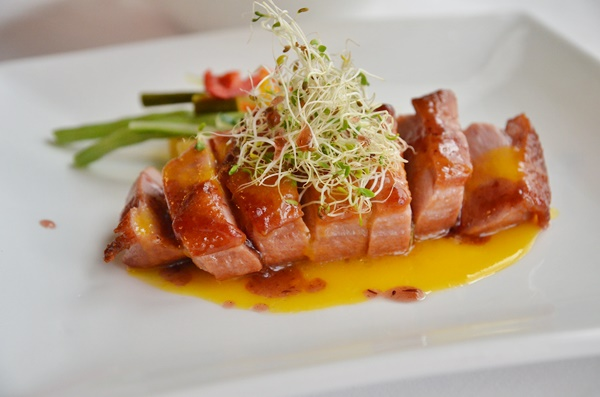 Smoked Duck Breast in Orange Sauce