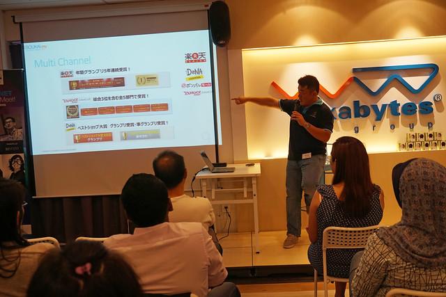 Mr Daisuke Maeda giving presentation