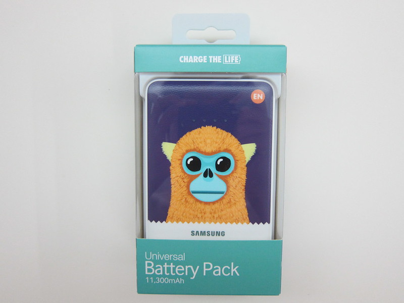 Samsung Animal Edition Battery Pack (11,300mAh) (Golden Monkey) - Box Front