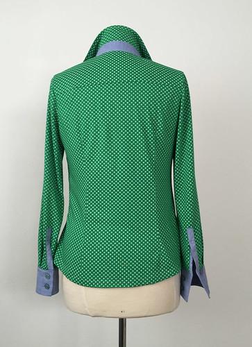 green shirt back