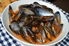 Scottish Mussels in Tomato & Chorizo Sauce