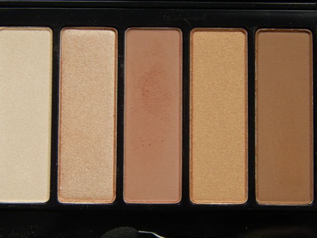 L'Oreal La Palette Nude 1, review and swatches at A Thing of Beauty