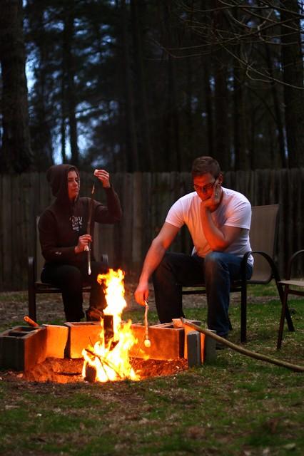 family marshmallow night
