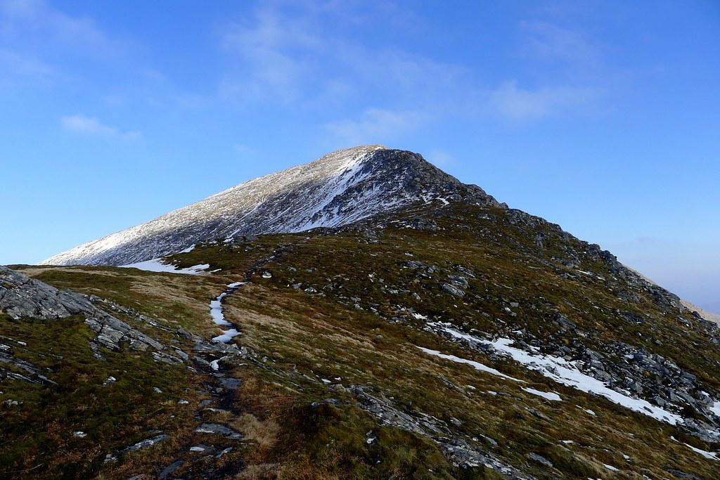 The ascent of Sgurr a'Chaorachain