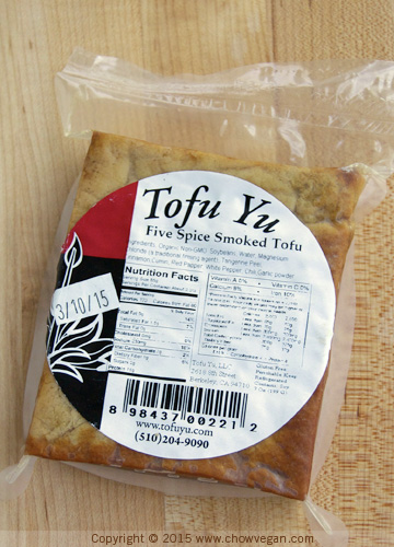 Tofu Yu Five Spice Smoked Tofu