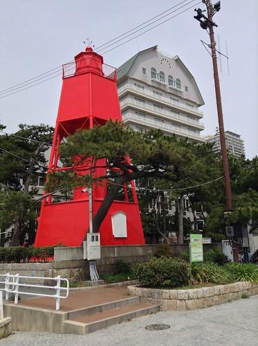 须磨海滩旧灯塔