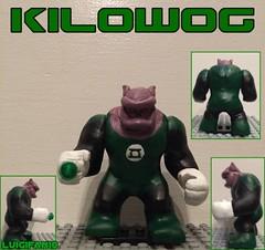 Custom Lego Kilowog