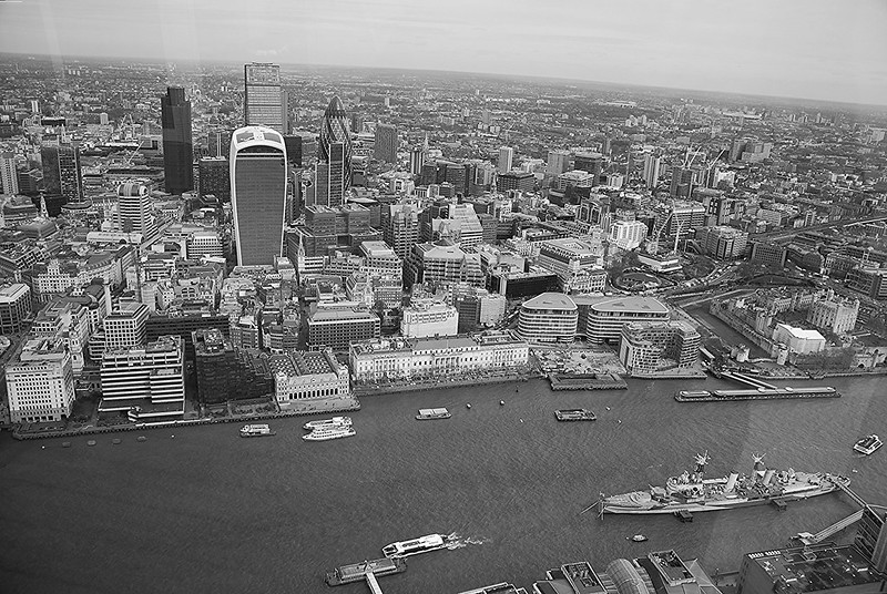The City from the Shard