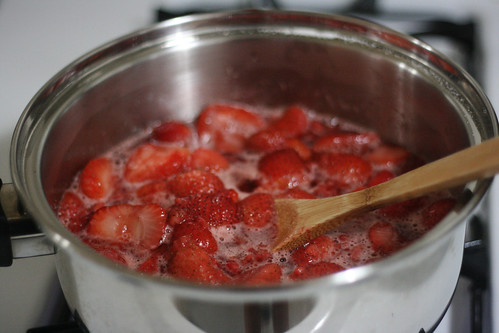 Simmered berries