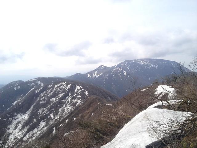 伊吹山 北尾根縦走路 国見岳から伊吹山
