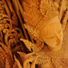 Ornate Budda wood carving