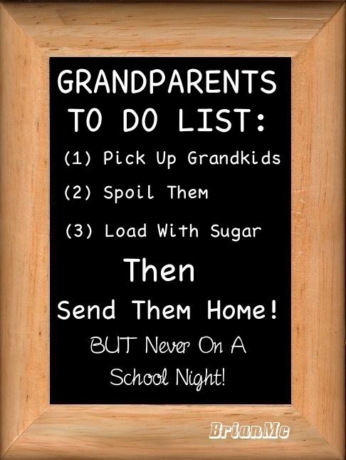 Grandparents To Do List
