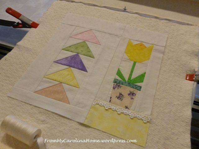 Spring Mini Quilt - 11
