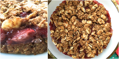 Mrs. Fields Strawberry Oatmeal Tart