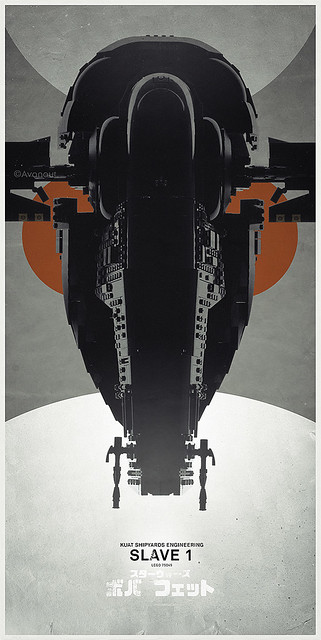 Slave 1 Lego UCS Poster