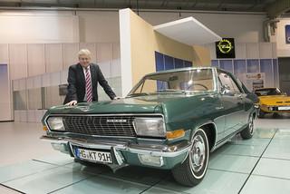 Opel auf der Techno-Classica 2015