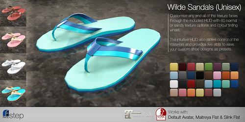 FATEstep - Wilde Sandals