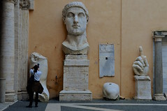 Constantine the Great, Capitoline Museums, Rome