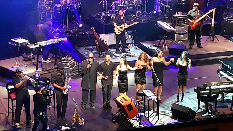 Stevie Wonder at Solaire