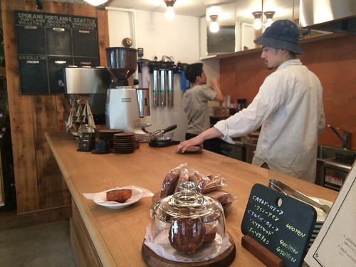 店内@パドラーズコーヒー