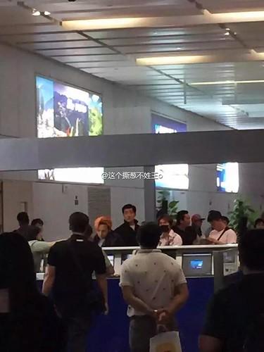BIGBANG GDTOPDAE arrival Hangzhou 2015-08-25 107