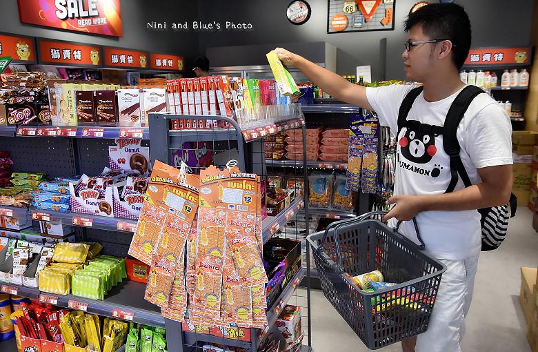 台中獅賣特即期良品進口零食餅乾泡麵23