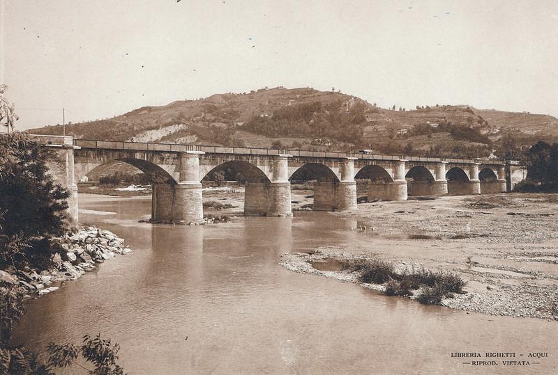 Ponte Carlo Alberto sulla Bormida, Acqui Terme, Italy