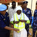 UNAMID's Police Commissioner Equipment to improve security at Ardamata camp for internally displaced, West Darfur