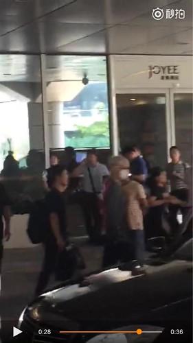 BIGBANG lArrival Shenzhen from Seoul 2015-08-07 006