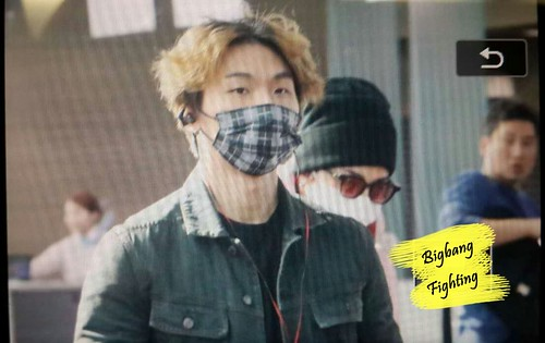 Big Bang - Incheon Airport - 24sep2015 - BigbangFighting - 18