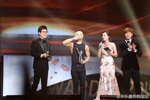 Tae Yang - Golden Disk Awards 2014 - 14jan2015 - 永乐票务韩国站 - 02