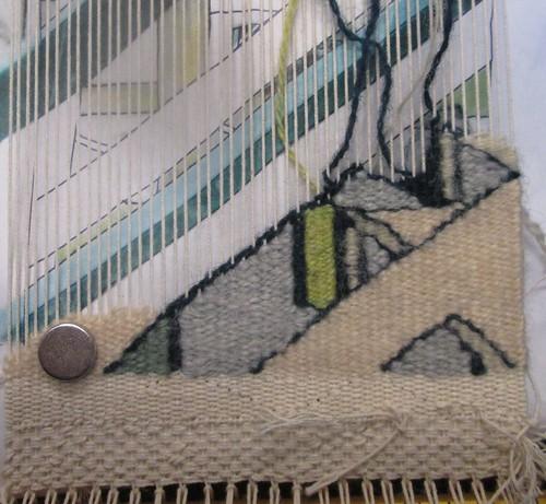 little urban landscape tapestry